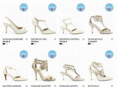 Ivoire Sarenza A Mariage chaussures Bourges Chaussures FHdqTH